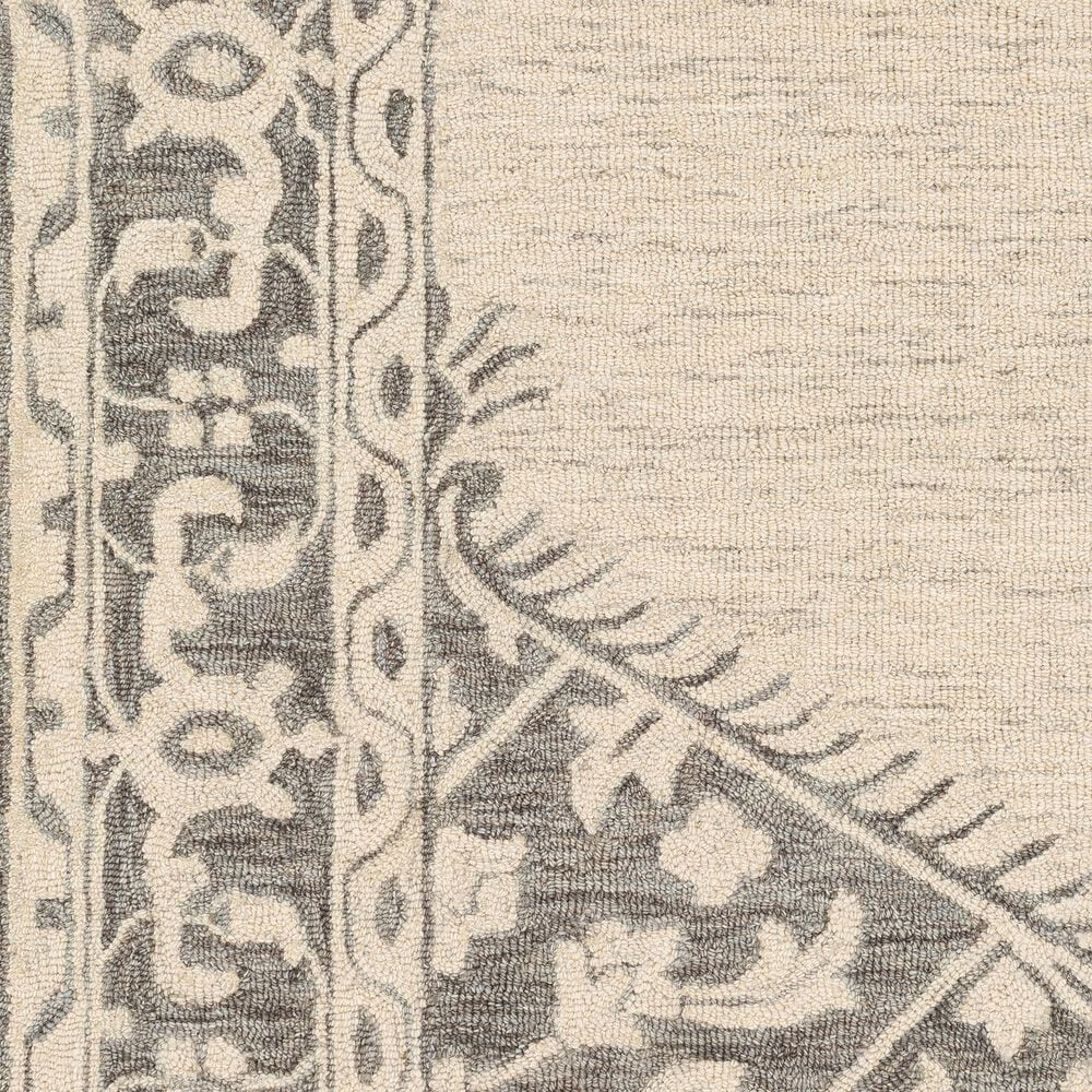 Surya Granada GND-2307 8' x 10' Medium Gray, Beige and Charcoal Area Rug, , large