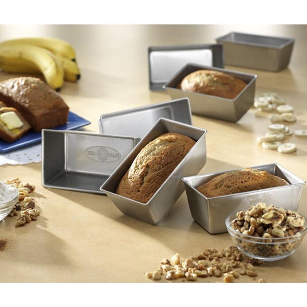 USA PAN Mini Set of 4 Loaf Pan , , large