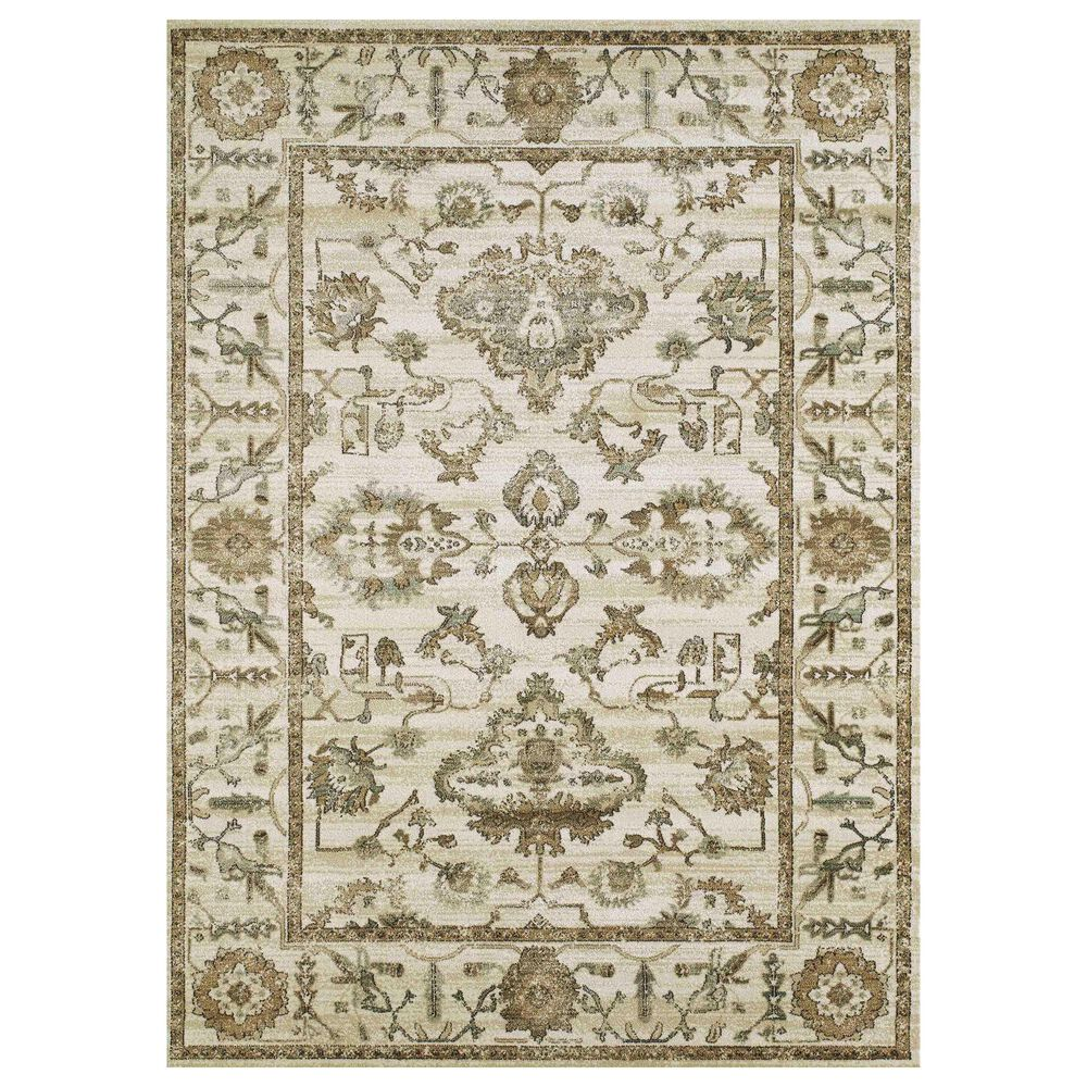 "Radici USA Colloseo 3562 7'10"" x 10'6"" Bone Area Rug, , large"