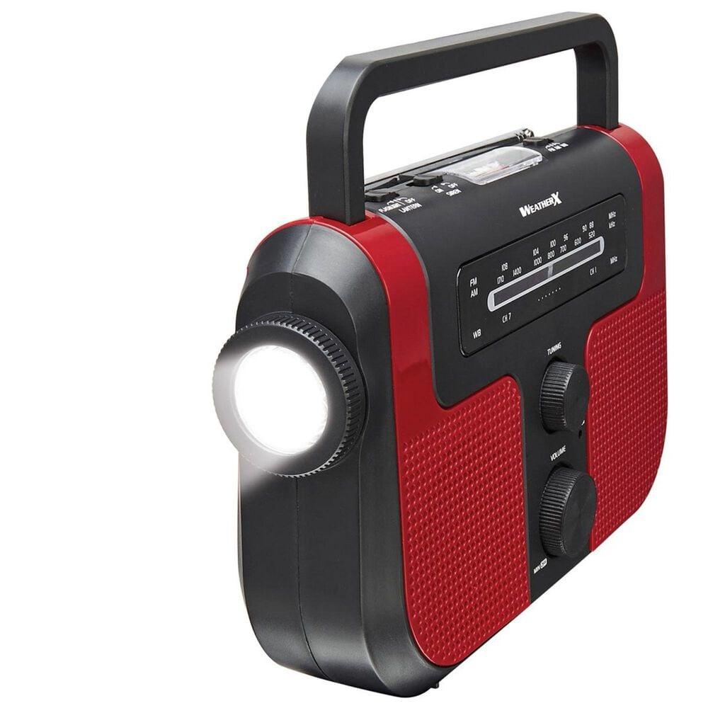 GPX Direct Tuning AM / FM Weather Band Radio with Flashlight and Lantern, , large