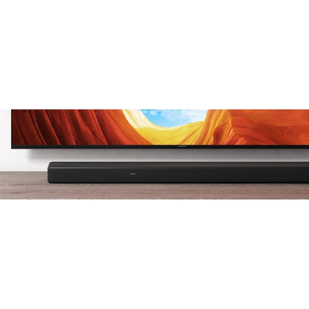 """Sony 77"""" Class A80J 4K OLED UHD Smart TV with HDR and 3.1 Channel Soundbar System in Black, , large"""