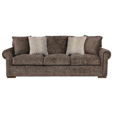 Century Cornerstone Sofa in Textured Charbrown, , large