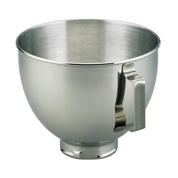KitchenAid 4.5-Quart Stainless Steel Mixing Bowl with Handles, , large