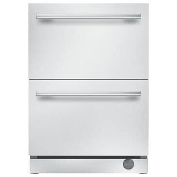 Thermador 4.7 Cu. Ft. Under-Counter Double Drawer Refrigerator in Stainless Steel, , large