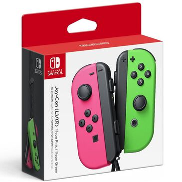 Nintendo Joy-Con Wireless Controllers for Nintendo Switch - Neon Pink / Neon Green, , large