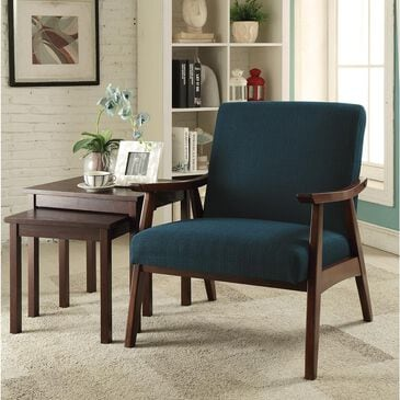 OSP Home Davis Accent Chair in Klien Azure, , large