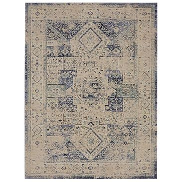 "Karastan Cosmopolitan Santee 90960-50134 5'3"" x 7'10"" Indigo Area Rug, , large"