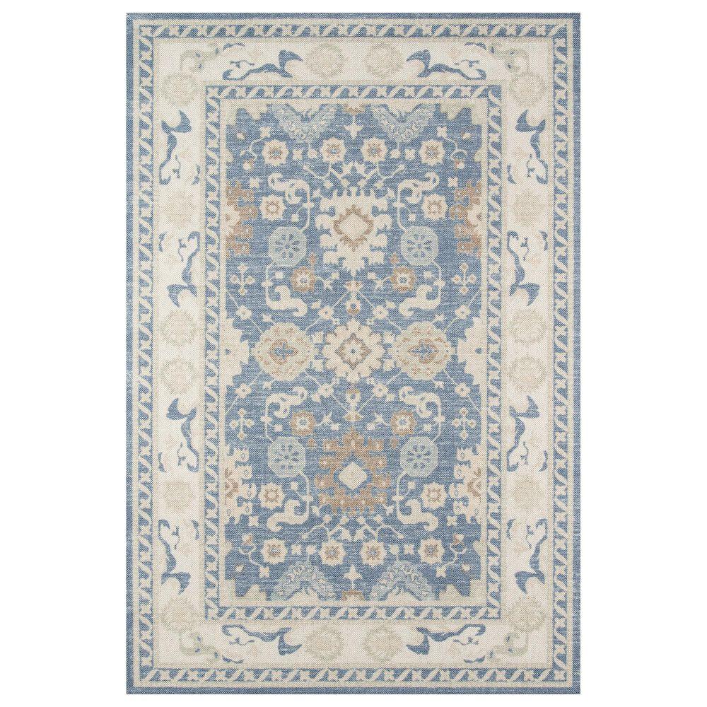 Momeni Anatolia ANA-07 3' x 5' Light Blue Area Rug, , large