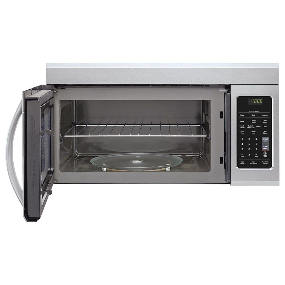 LG 1.8 Cu. Ft. Over-the-Range Microwave with 1000 Watts in Stainless Steel, , large