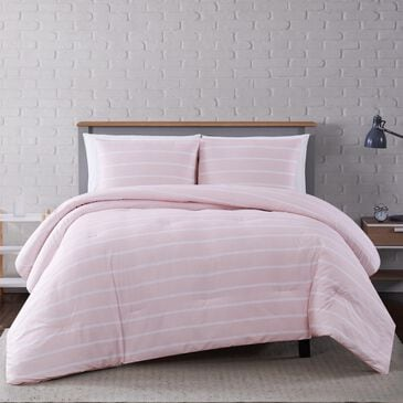 Pem America Truly Soft Maddow 3-Piece Full/Queen Comforter Set in Blush, , large