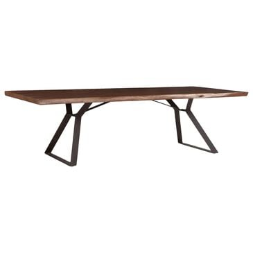 Home Trends & Design London Loft Dining Table in Walnut and Antique Zinc, , large