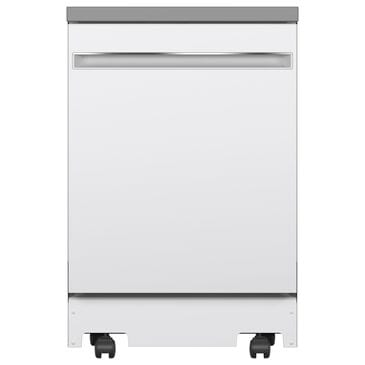 "GE Appliances 24"" Portable Dishwasher in White, , large"
