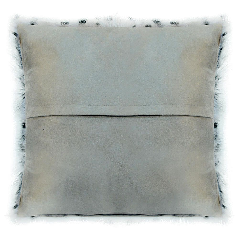 Moe's Home Collection Goat Fur Pillow in Grey, , large
