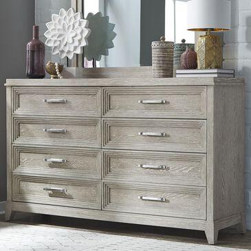 Belle Furnishings Belmar 8 Drawer Dresser in Washed Taupe, , large
