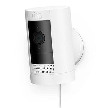 Ring Stick Up Indoor/Outdoor 1080p Wired Security Camera - White, , large