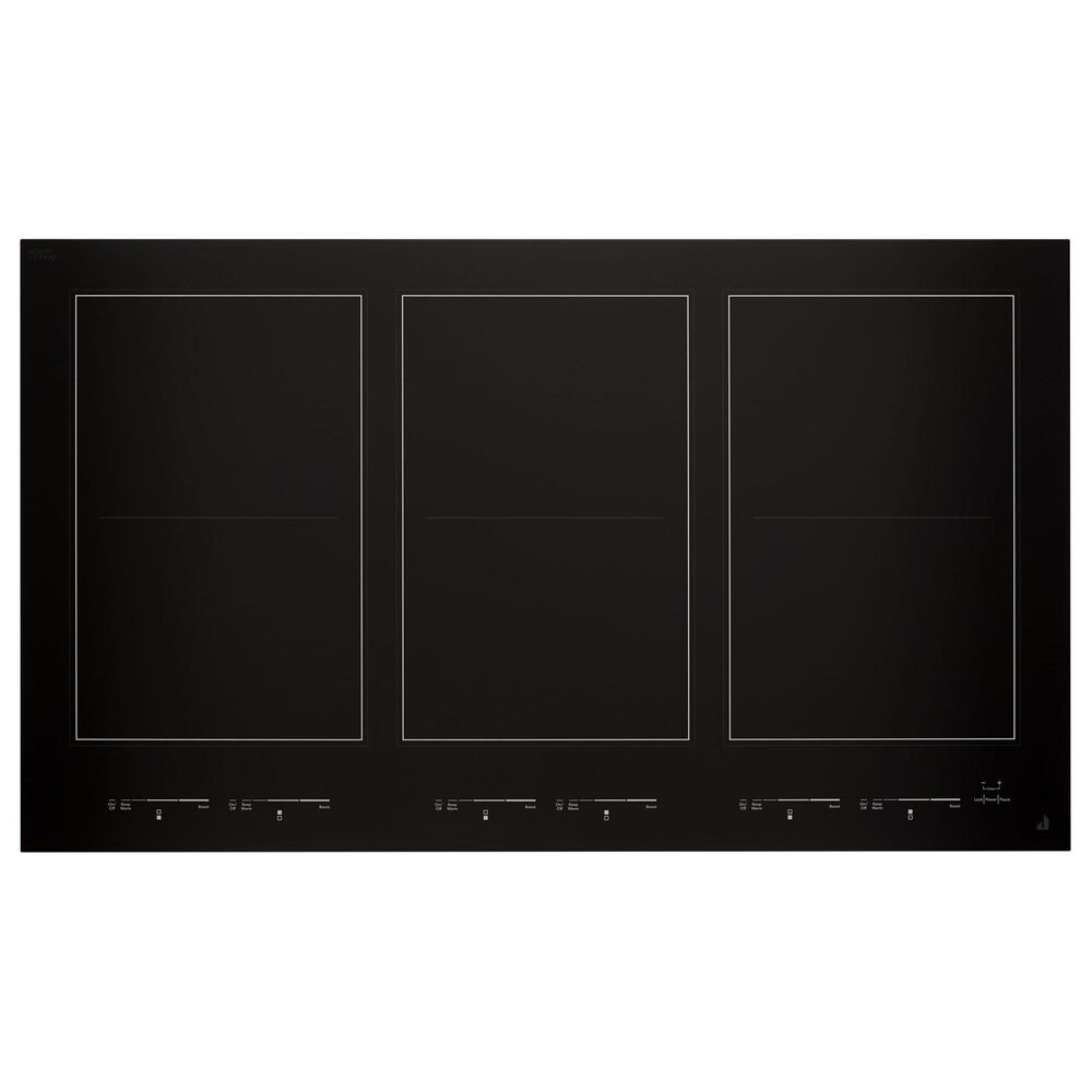 "Jenn-Air Oblivion Glass 36"" Induction Flex Cooktop in Black, , large"