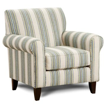 Xenia Accent Chair in Sharpei Lagoon, , large