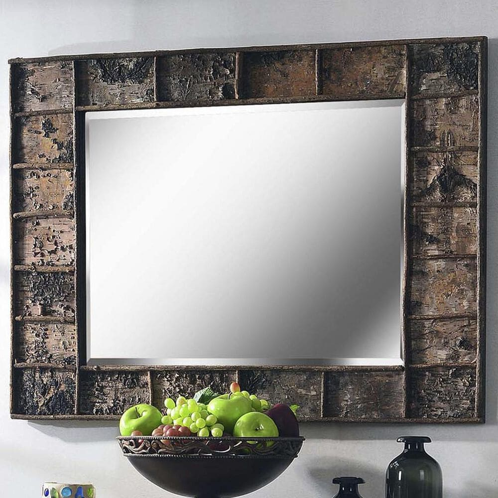 Kenroy Birch Wall Mirror in Glass, , large