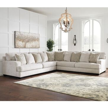 Signature Design by Ashley Rawcliffe 3-Piece Sectional Set in Parchment, , large