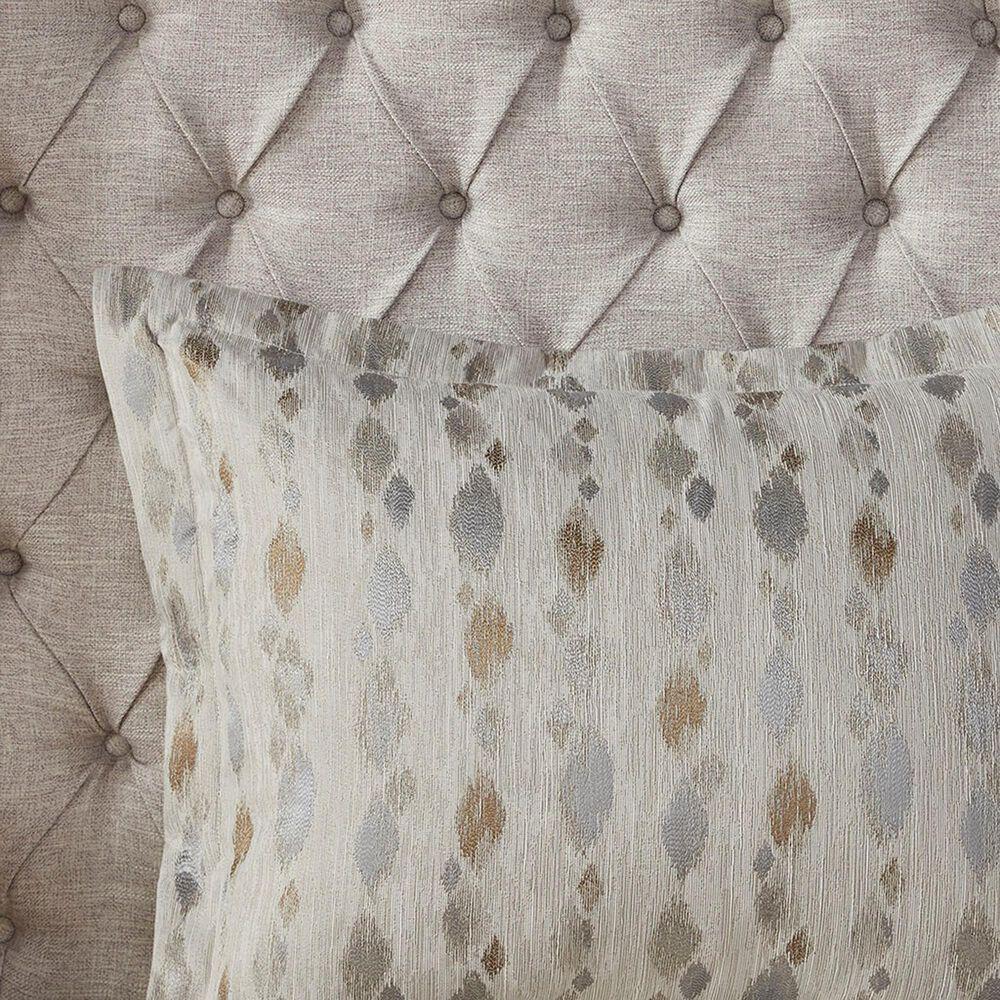 Hampton Park Sanctuary 8-Piece Queen Comforter Set in Taupe, , large