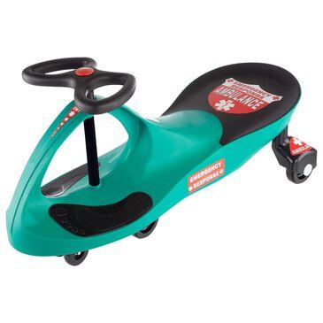 Timberlake Lil' Rider Responder Ambulance Wiggle Ride-on Car in Green, , large