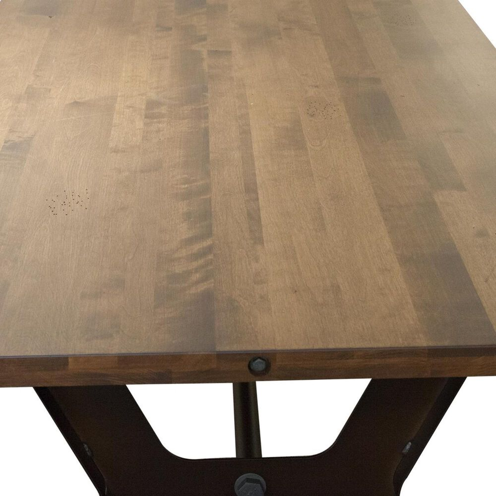 Amisco Parade Dining Table in Oxidado and Toasty - Table Only, , large