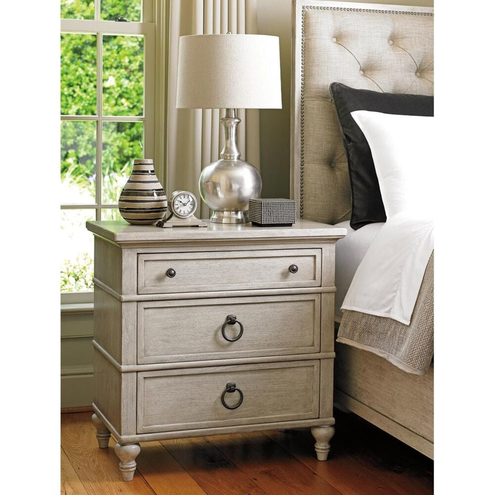 Lexington Furniture Oyster Bay Cedarhurst Nightstand in Oyster, , large