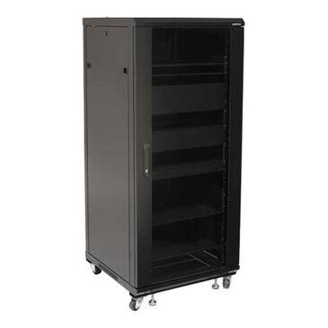 """Sanus 55"""" Tall AV Rack 27U Component rack for home theater equipment, , large"""