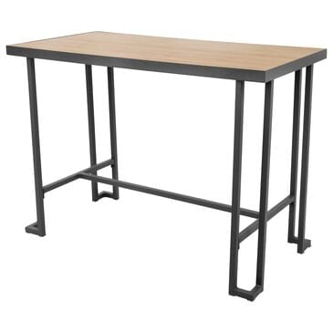 Lumisource Roman Counter Table in Brown/Grey, , large