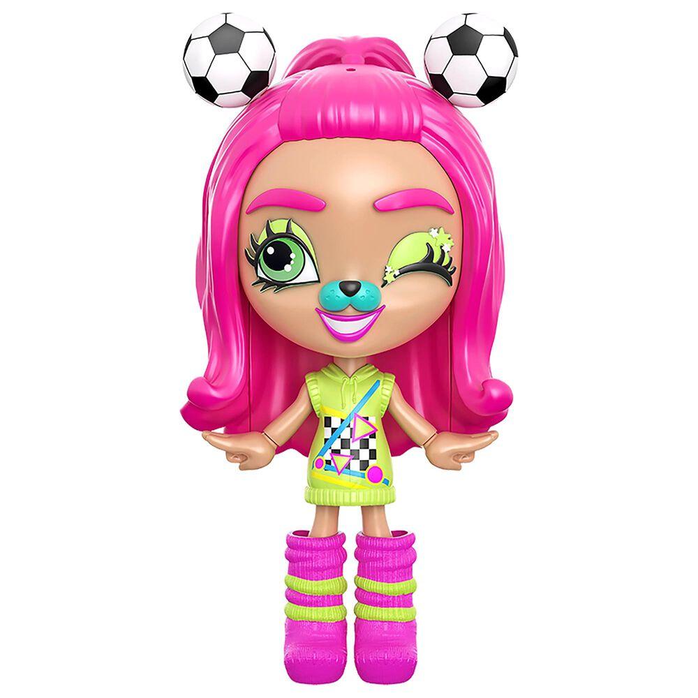 Mattel Lotta Looks Soccer Star Mood Pack Doll, , large