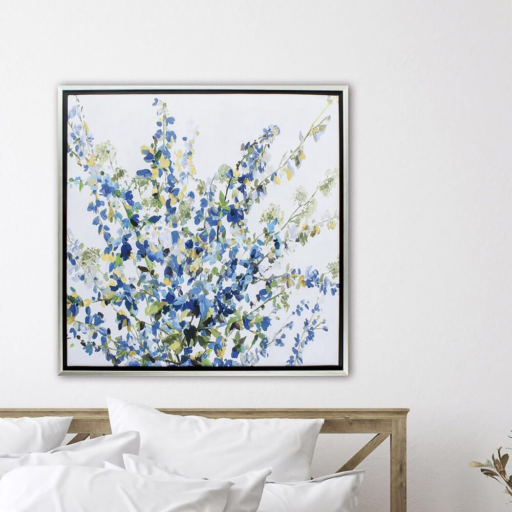 """Propac """"Blossoming Florals"""" Wall Art in Blue, , large"""