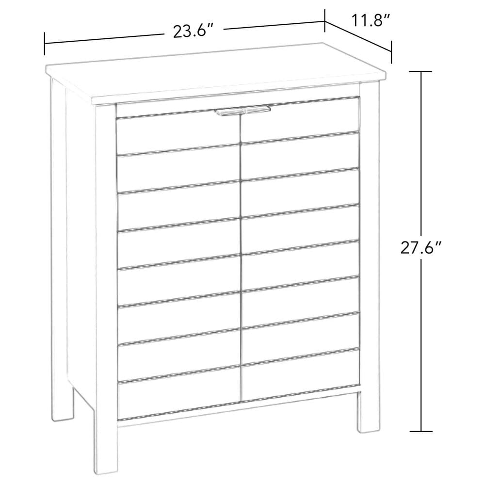 RiverRidge Home Madison 2-Door Floor Cabinet in Gray, , large