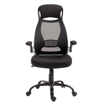 New Era Holding Group LTD Executive Desk Chair in Black Mesh, , large