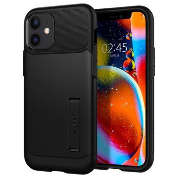 Spigen Slim Armor Case For Apple iPhone 12 / 12 Pro in Black, , large