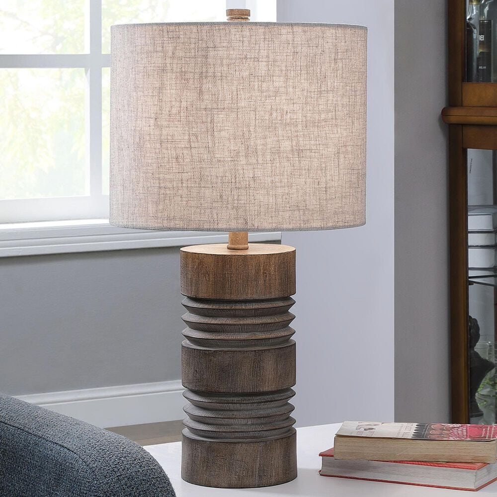 Flair Industries Round Moulded Table Lamp in Roanoke, , large