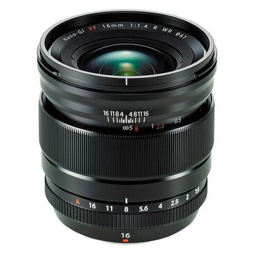 Fujifilm XF 16mm f/1.4 R WR Lens, , large