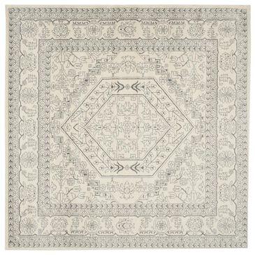 Safavieh Adirondack ADR108B-10SQ 10' x 10'  Ivory/Silver Square Rug, , large