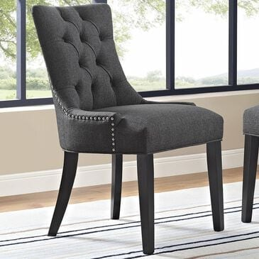 Modway Regent Fabric Dining Chair in Gray, , large