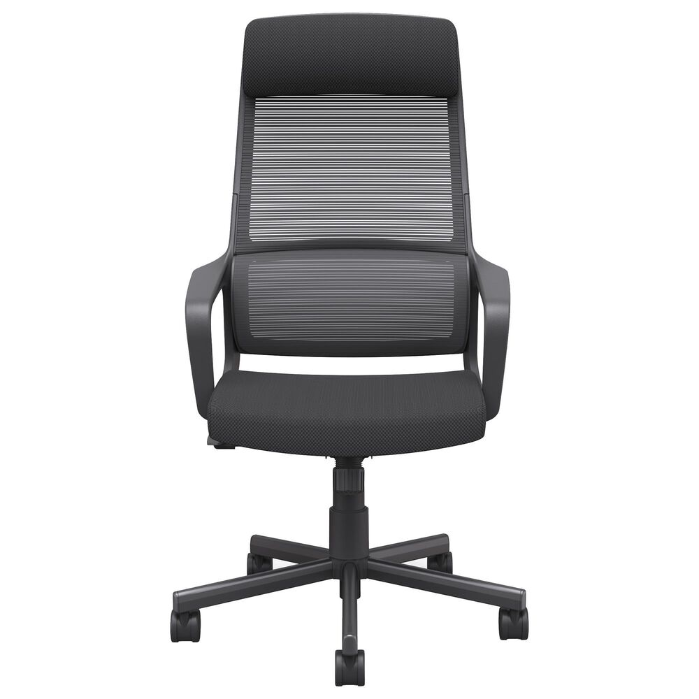 Furniture of America Grady Office Chair in Black, , large
