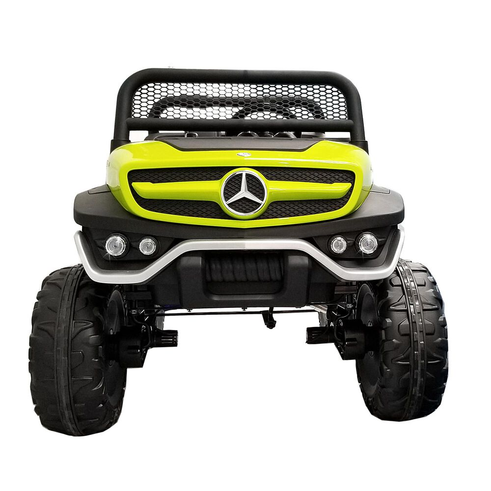 Best Ride On Cars Mercedes 12v Unimog in Green, , large