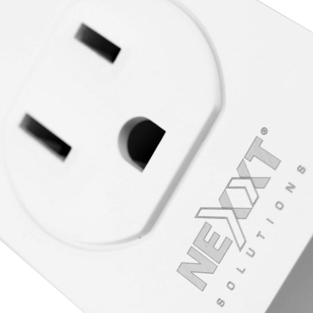 Nexxt Smart Electric Plug in White - Set of 2, , large