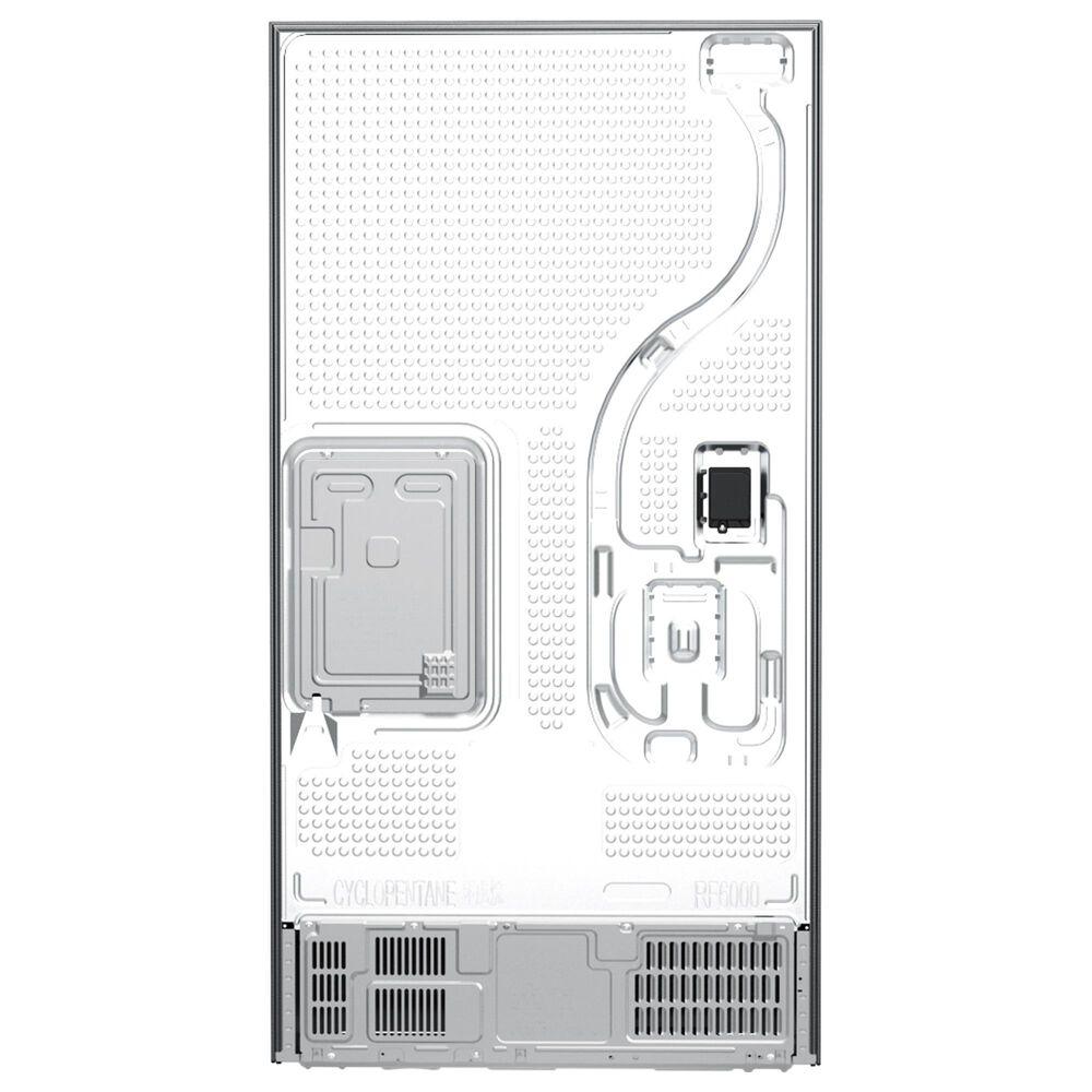 Samsung 28 Cu. Ft. 3-Door French Door Refrigerator in Fingerprint Resistant Black Stainless Steel, , large