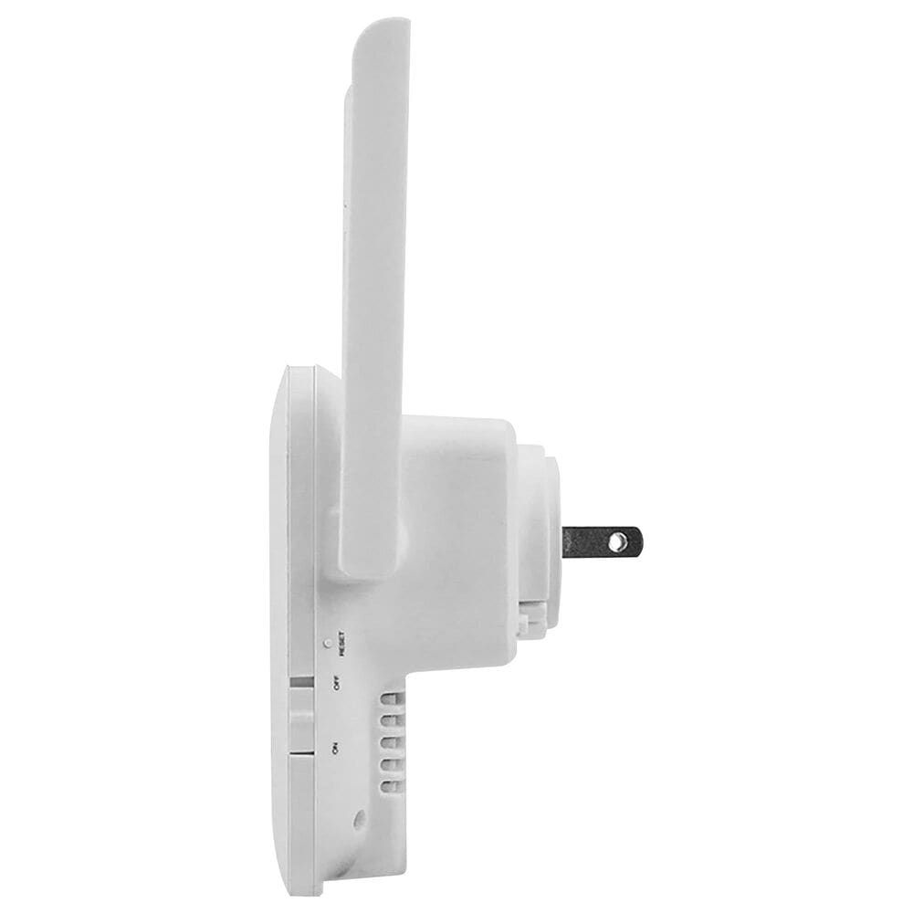 Nexxt Universal Wireless-AC dual band range extender 1200Mbps Wall Plug Design Repeater Router, , large