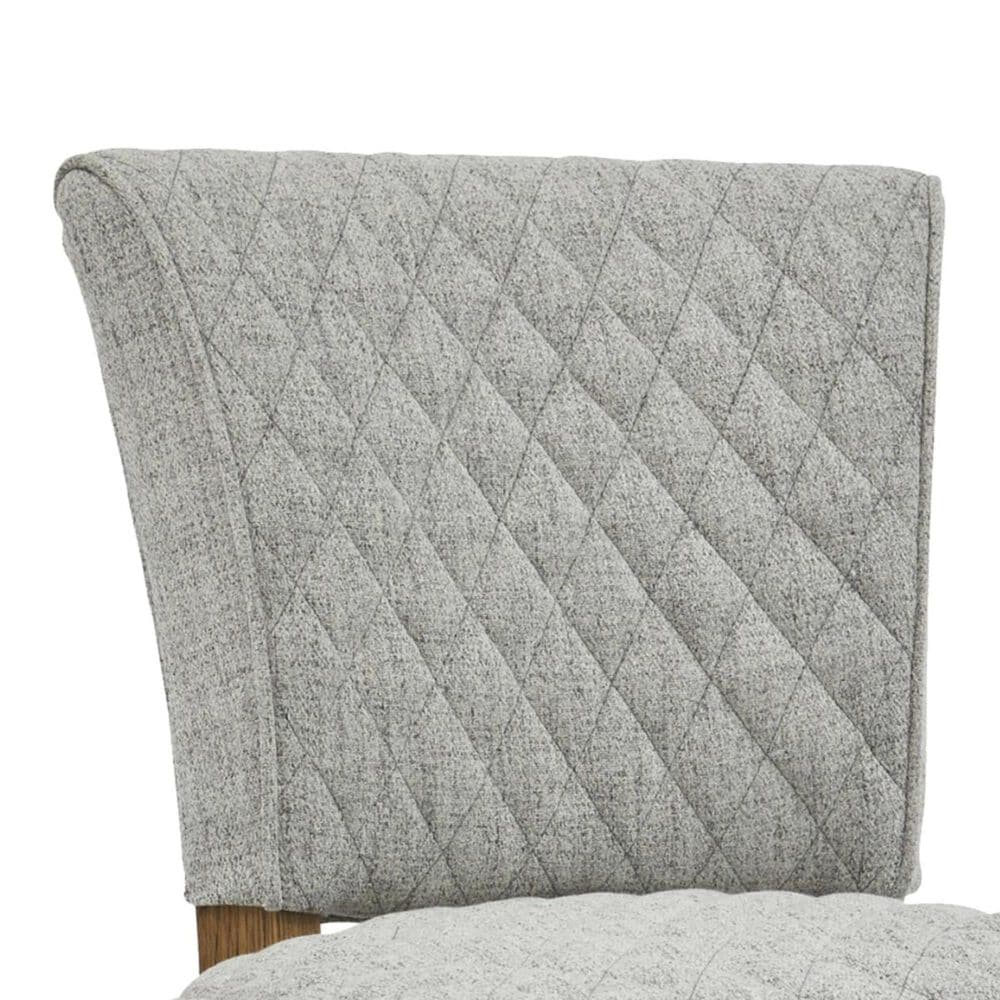 Accentric Approach Modern Authentics Benton Quilted Bar Stool in Grey, , large