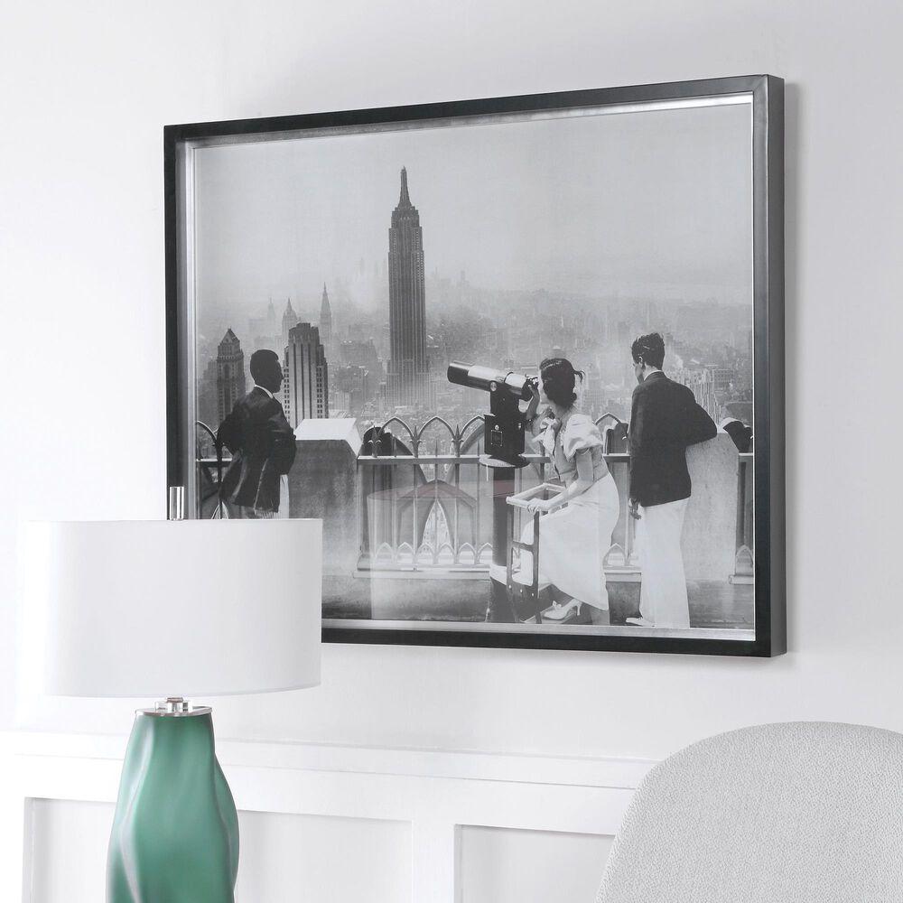 Uttermost Manhattan View Vintage Print, , large