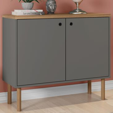 "Dayton Windsor 35.43"" Accent Cabinet in Grey and Nature, , large"