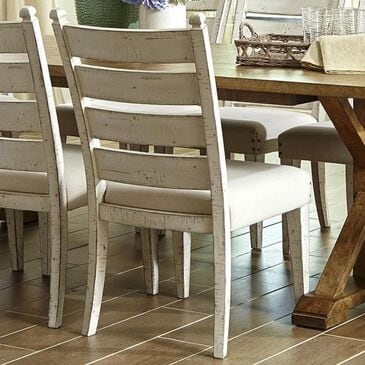 Trisha Yearwood Home Collection Coming Home Side Chair in Chalk, , large