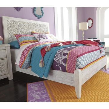 Signature Design by Ashley Paxberry Full Bed in White Wash, , large