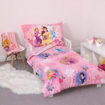 Crown Crafts Disney Princess 4-Piece Toddler Set, , large