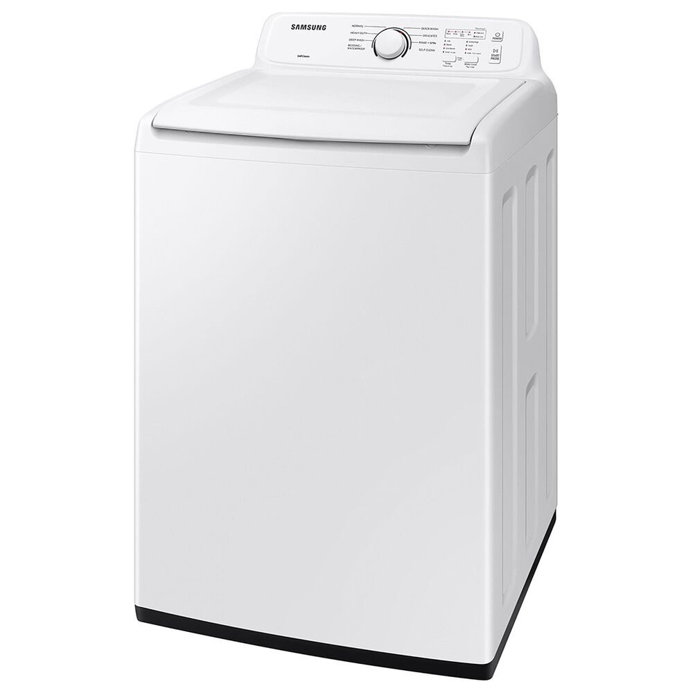 Samsung 4 Cu. Ft. Top Load Washer with Active Wave Agitator in White, , large